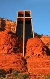 Capilla de la cruz santa Fotos de archivo libres de regalías