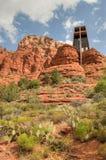 Capilla de la cruz santa Fotografía de archivo libre de regalías