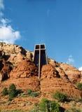 Capilla de la cruz santa imagen de archivo