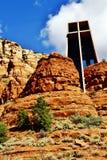 Capilla de la cruz santa en Sedona Imagen de archivo