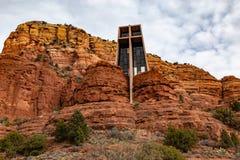 Capilla de la cruz santa Sedona AZ Estados Unidos imágenes de archivo libres de regalías