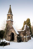 Capilla de la iglesia de la ruina Foto de archivo libre de regalías