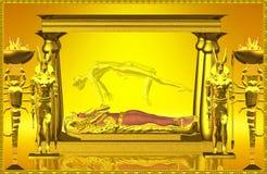 Capilla de la momia. ilustración del vector