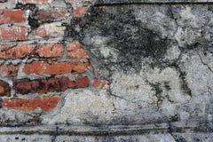 Capilla de la pared en Lopburi Tailandia Fotografía de archivo