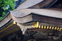 Capilla de la tubería de Hongu Taisha Imagen de archivo