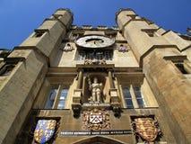 Capilla de la Universidad de Cambridge de la universidad de la trinidad Imagen de archivo libre de regalías