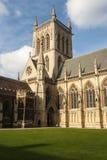 Capilla de la universidad de St John Foto de archivo libre de regalías