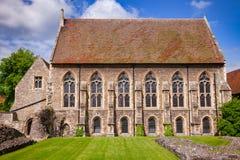 Capilla de la universidad del monasterio del St Augustines Abbey Benedictine en canto Fotos de archivo libres de regalías