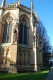 Capilla de la universidad del ` s de St John, Cambridge, Reino Unido fotos de archivo libres de regalías