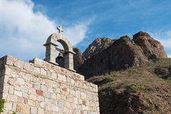Capilla de Las Parras foto de archivo