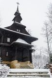 Capilla de madera Imagen de archivo