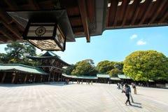 Capilla de Meiji Jingu Fotografía de archivo libre de regalías