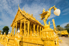 Capilla de oro Imágenes de archivo libres de regalías