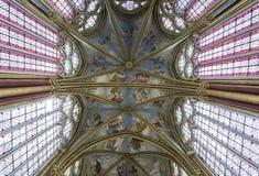 Capilla de Primatice, abadía de Chaalis, Chaalis, Francia Fotos de archivo
