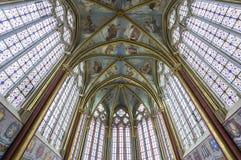 Capilla de Primatice, abadía de Chaalis, Chaalis, Francia Imagen de archivo libre de regalías