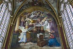 Capilla de Primatice, abadía de Chaalis, Chaalis, Francia Fotografía de archivo libre de regalías