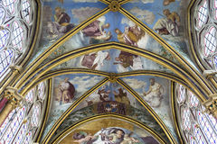 Capilla de Primatice, abadía de Chaalis, Chaalis, Francia Foto de archivo