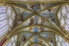 Capilla de Primatice, abadía de Chaalis, Chaalis, Francia Foto de archivo libre de regalías