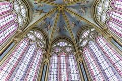 Capilla de Primatice, abadía de Chaalis, Chaalis, Francia Imagenes de archivo