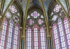 Capilla de Primatice, abadía de Chaalis, Chaalis, Francia Imágenes de archivo libres de regalías