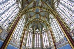 Capilla de Primatice, abadía de Chaalis, Chaalis, Francia Fotografía de archivo