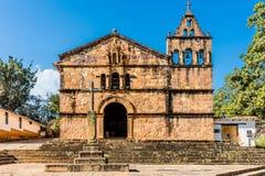 Capilla DE Santa Barbara Barichara Santander Colombia royalty-vrije stock foto