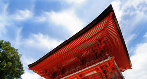 Capilla de Shimogamo en Kyoto, Japón Imagen de archivo libre de regalías