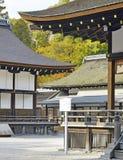 Capilla de Shimogamo-jinja, Kyoto, Japón Imagen de archivo libre de regalías
