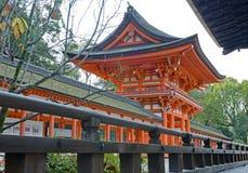 Capilla de Shimogamo-jinja, Kyoto, Japón Foto de archivo libre de regalías