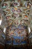 Capilla de Sistine foto de archivo libre de regalías