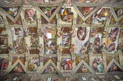 Capilla de Sistine Fotos de archivo libres de regalías