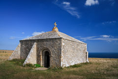 Capilla de St Aldhelm, Dorset. Fotografía de archivo