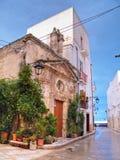 Capilla de St. Vito. Monopoli. Apulia. foto de archivo