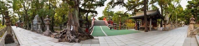 Capilla de Sumiyoshi Taisha, Osaka Fotografía de archivo