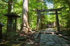 Capilla de Takinoo - Nikko, Japón Fotografía de archivo libre de regalías