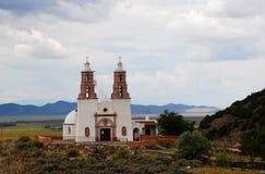 Capilla de todos los santos en San Luis, Colorado imágenes de archivo libres de regalías