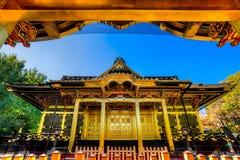 Capilla de Tosho-Gu, Tokio, Japón imágenes de archivo libres de regalías