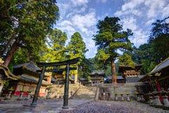 Capilla de Toshogu foto de archivo libre de regalías