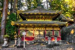 Capilla de Toshogu, Nikko, Japón foto de archivo libre de regalías