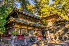 Capilla de Toshogu, Nikko, Japón imagenes de archivo