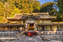 Capilla de Toshogu, Nikko, Japón fotografía de archivo libre de regalías