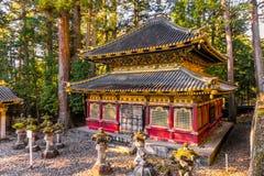 Capilla de Toshogu, Nikko, Japón fotos de archivo