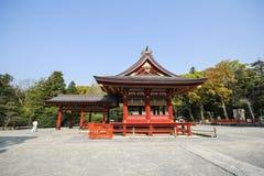 Capilla de Tsurugaoka Hachimangu, Kamakura, Japón Foto de archivo