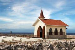 Capilla de Vista del alto Foto de archivo libre de regalías
