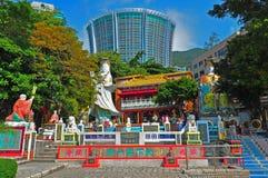 Capilla del ñame de Kwun, Hong-Kong Imagenes de archivo