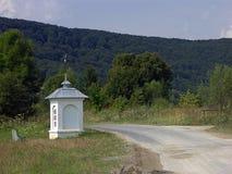 Capilla del borde del camino Imágenes de archivo libres de regalías