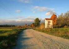 Capilla del borde del camino Fotos de archivo libres de regalías