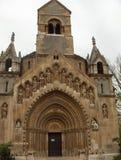 Capilla del castillo de Vajdahunyad Fotos de archivo libres de regalías