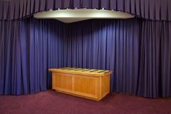 Capilla del crematorio fotos de archivo libres de regalías