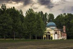 Capilla del lago Foto de archivo libre de regalías